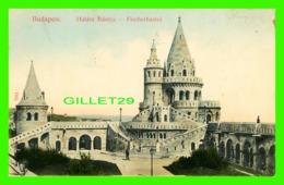 BUDAPEST, HONGRIE - HALASZ BASTYA - FISCHERBASTEI - ANIMATED - 3/4 BACK - TAUSSIG A. BPEST - - Hongrie