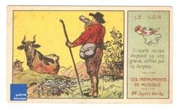 Chromo Instrument De Musique Le Cor Des Alpes Alpage Vache Cloche Corne Montagne Berger A30-19 - Cromo