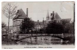 La Selle-sur-le-Bied - Château ( Vue De Face ) - édit. G. Siguret  + Verso - France