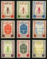 DUBAI - INSECTES - YT 22 à 26 ** + PA18 à 20 * - SERIE COMPLETE 9 TIMBRES NEUFS **/* - Autres