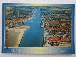 CP 59  GRAND FORT PHILIPPE  Et Petit Fort Philippe  - Phare De Gravelines, Vue Aérienne 2001 - France