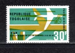 TOGO PA  N° 54  NEUF SANS CHARNIERE COTE  1.00€  AVION DC 8 - Togo (1960-...)