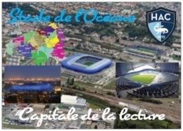 Stade De Football - Stade De L'Océane - Le Havre - Capitale De La Lecture - 3 Vues + Carte Géo - Cpm - Vierge - - Voetbal