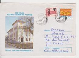 SLATINA POSTAL OFFICE, ROMANIA STATIONERY - Post