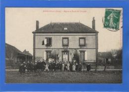 61 ORNE - RANDONNAI Mairie Et école De Garçons - France