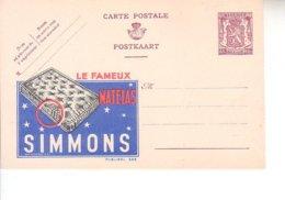 Publibel Neuf 658 - Stamped Stationery