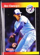 Kanada - Baseball Sammelkarte 267  James (Jim) Clancy, Werfer Der Toronto Blue Jays Von 1989 - Baseball - Minors
