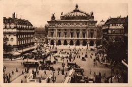 CP 75 Paris Place De L'Opéra Paris En Flanant Série 9 161 Yvon - Places, Squares