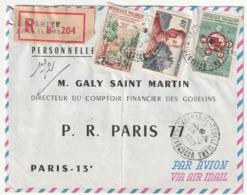 MADAGASCAR - LETTRE Recommandée : Tsaralalana Le 10/10/1960 - Madagascar (1960-...)