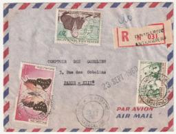 MADAGASCAR - LETTRE Recommandée : Antanimena Le 20/09/1960 - Madagascar (1960-...)