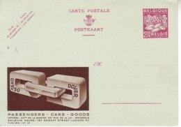 Publibel Neuf 02 Int - Ostend Dover - Postwaardestukken