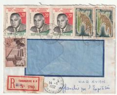 MADAGASCAR - LETTRE Recommandée : Tananarive Le 14/03/1962 - Madagascar (1960-...)