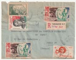 MADAGASCAR - LETTRE Recommandée : Tananarive Le 17/04/1961 - Madagascar (1960-...)