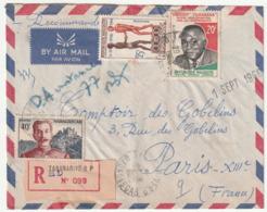 MADAGASCAR - LETTRE Recommandée : Tananarive Le 29/08/1960 - Madagascar (1960-...)