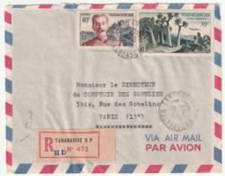 MADAGASCAR - LETTRE Recommandée : Tananarive Le 16/05/1960 - Madagascar (1960-...)
