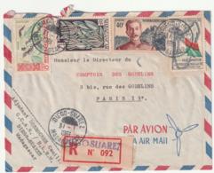 MADAGASCAR - LETTRE Recommandée : Diego-Suarez  Le 31/01/1961 - Madagascar (1960-...)