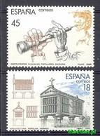 Spain 1988 Mi 2836-2837 MNH ( ZE1 SPN2836-2837 ) - Music