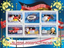 Guinea 2008 MNH - German Football Players, Swiss Ambulance Of Geneva, Joseph Haydn. YT 3292-3296, Mi 5346-5350 - Guinea (1958-...)