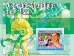 Guinea 2008 MNH - Les Grands Champions Dy Cyclisme: Greg Lemond. YT 823, Mi 5433/BL1490 - Guinea (1958-...)