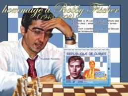 Guinea 2008 MNH - Hommage A Bobby Fischer: & Vladimir Kramnik. YT 825, Mi 5448/BL1495 - Guinea (1958-...)