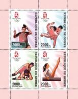Guinea 2008 MNH - Olympic Games Beijing (Pekin) 2008 (table Tennis, Martial Arts..). YT 3382-3385, Mi 5342-5345 - Guinea (1958-...)