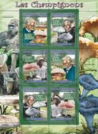 Guinea 2008 MNH - FAUNA- Mushrooms. YT 3405-3410, Mi 5453-5458 - Guinea (1958-...)