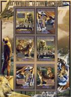 Guinea 2008 MNH - FAUNA- Panthers, Lions, Tigers. YT 3447-3452, Mi 5589-5594 - Guinea (1958-...)
