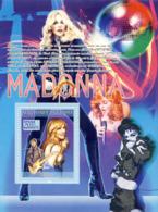 Guinea 2008 MNH -CELEBRITIES- Madonna, Prince. YT 889, Mi 5653/BL1551 - Guinea (1958-...)