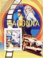 Guinea 2008 MNH -CELEBRITIES- Madonna, Cars. YT 891, Mi 5655/BL1553 - Guinea (1958-...)