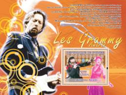 Guinea 2008 MNH -GRAMMY AWARDS-Bono, Ella Fitzgerald (Eric Clapton). YT 931, Mi 6030/BL1604 - Guinea (1958-...)