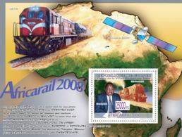 Guinea 2008 MNH - Transport - Train GMA Garratt 4088 (Train U20C D-89). YT 921, Mi 5823/BL1577 - República De Guinea (1958-...)