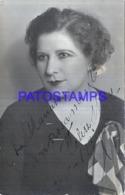 122305 ARGENTINA ARTIST FELISA MARY ACTRESS AUTOGRAPH  POSTAL POSTCARD - Argentina