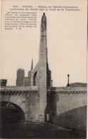 CP 75 Paris Pont De La Tournelle Statue Sainte Geneviève 795 JH Boisson - Brücken