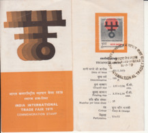 Stamped Info Of International Trade Fair 1979, Exposition, Trade Commerce, Industires, Economy, Agriculture, Technology - Universal Expositions
