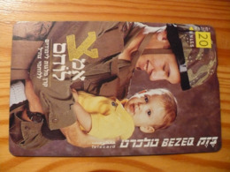 Phonecard Israel - Military - Israël