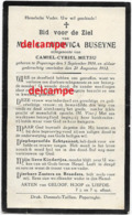 DOODSPRENTJE Maria Buseyne Poperinge 1904 En Aldaar Overleden 1932 Metsu Camiel Bidprentje - Images Religieuses