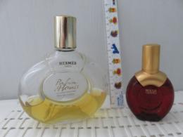 2flacons Anciens Hermes - Bottles (empty)