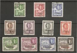 SOMALILAND 1951 SET SG 125/135 FINE USED Cat £70 - Somaliland (Herrschaft ...-1959)