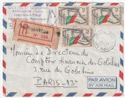MADAGASCAR - LETTRE Recommandée : Fianarantsoa  Le 26/04/1961 - Madagascar (1960-...)