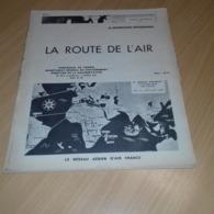 """10 Images Sur L Aviation La Route De L Air """"air France""""1946 - Old Paper"""