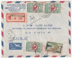 MADAGASCAR - LETTRE Recommandée : Ambovombé  Le 13/11/1960 - Madagascar (1960-...)