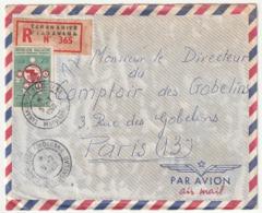 MADAGASCAR - LETTRE Recommandée : Fiadanana  Le 05/07/1960 - Madagascar (1960-...)