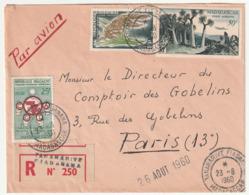 MADAGASCAR - LETTRE Recommandée : Fiadanana  Le 23/08/1960 - Madagascar (1960-...)