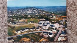 CPSM CHATEAU CHINON NIEVRE VUE GENERALE AERIENNE ED CIM 1978 - Chateau Chinon