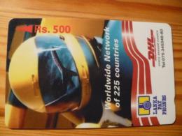 Phonecard Sri Lanka - DHL, Airplane - Sri Lanka (Ceylon)