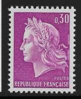 Yvert 1536 Maury 1536 - 30 C Lilas -  ** - 1967-70 Marianne Of Cheffer