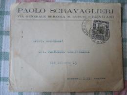 Libia/ Pittorica 50 Cm - Storia Postale (Posta Aerea)
