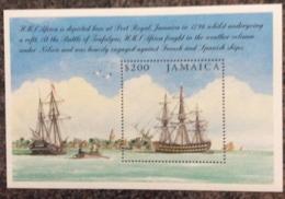 Jamaica 2005 Bicent Battle Of Trafalgar Minisheet  MNH - Jamaica (1962-...)