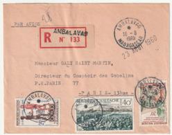 MADAGASCAR - LETTRE Recommandée : Ambalavao  Le 16/08/1960 - Madagascar (1960-...)