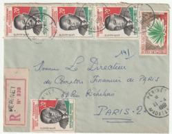 MADAGASCAR - LETTRE Recommandée : Perinet  Le 11/04/1961 - Madagascar (1960-...)